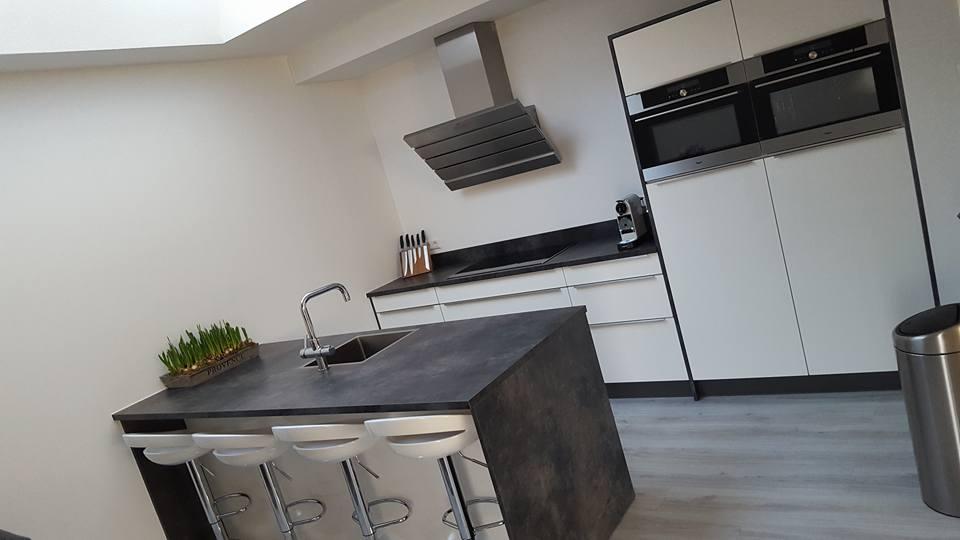 Woonkamer En Keuken : Open keuken in woonkamer