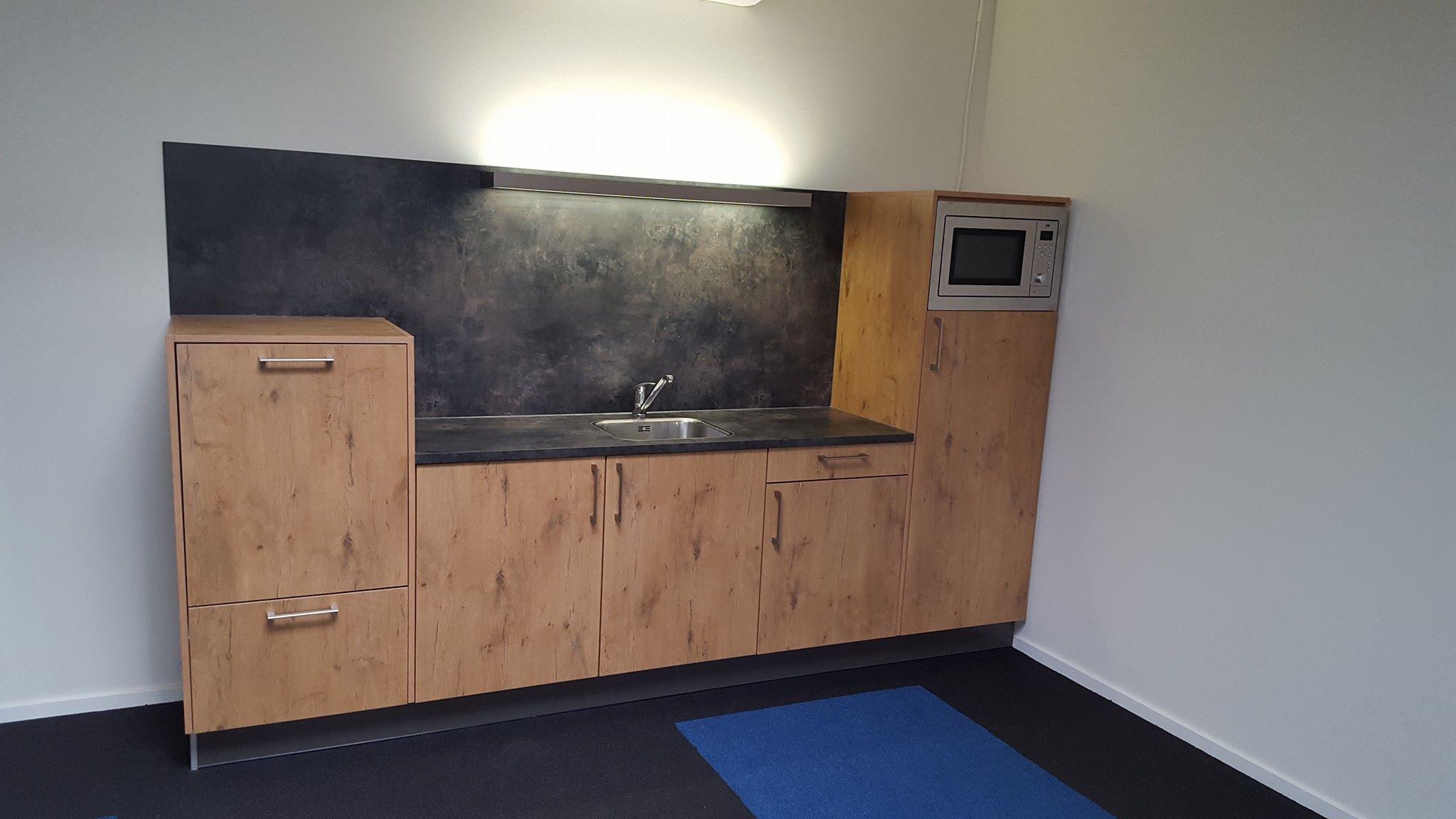 Open keuken in woonkamer